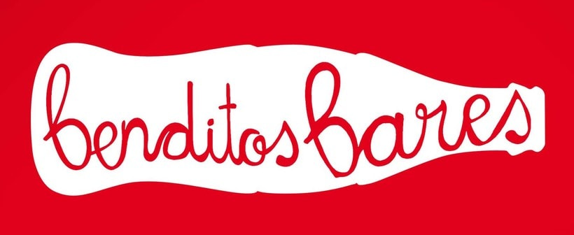 "Logotipo ""Benditos Bares"", Coca Cola, 2013 0"