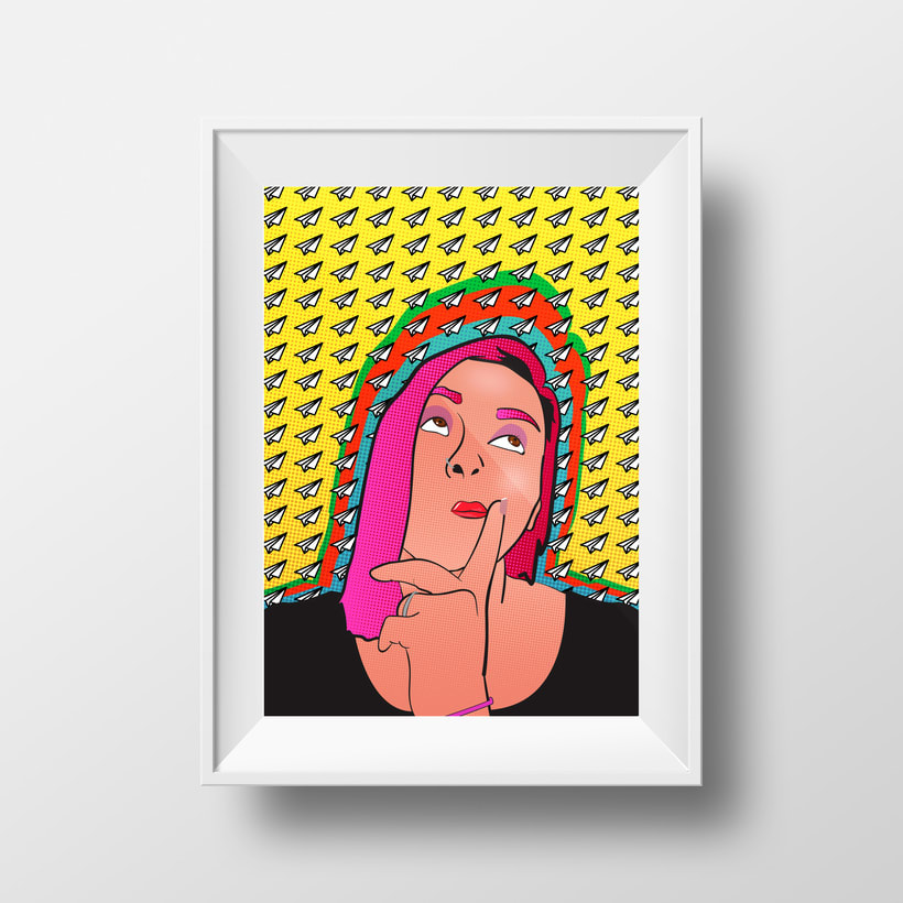 Serie de retratos Pop Art 1