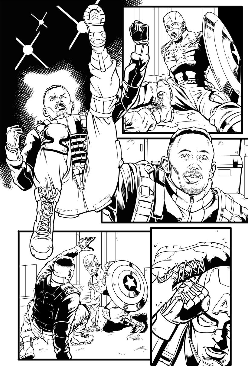 Capitán América - El Soldado de Invierno 1