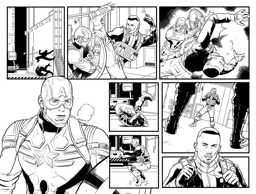 Capitán América - El Soldado de Invierno 2