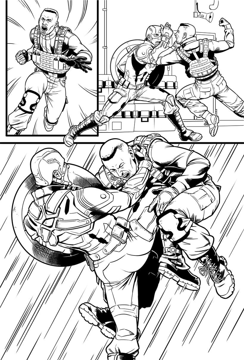 Capitán América - El Soldado de Invierno 3
