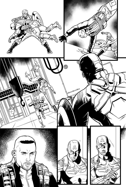Capitán América - El Soldado de Invierno 4