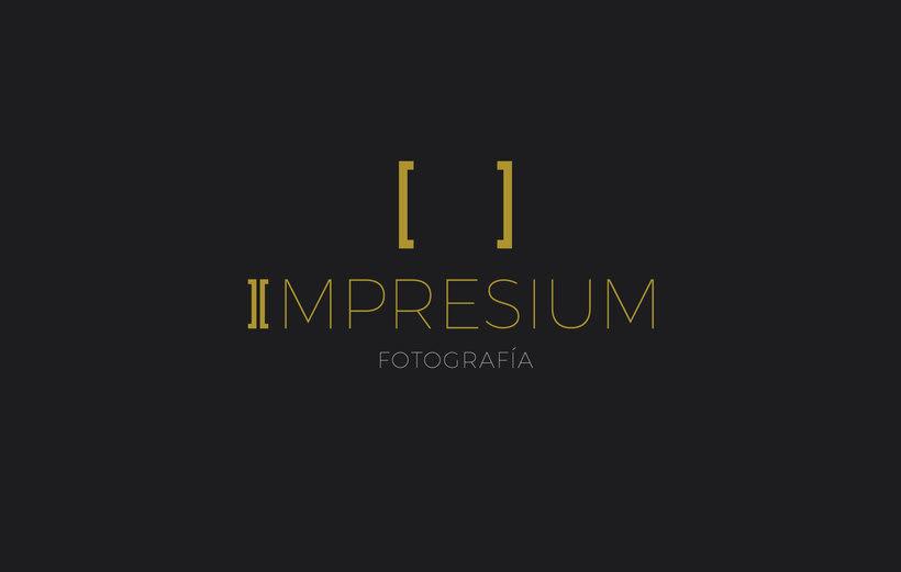 Rediseño de logo para Impresium Fotografía 0