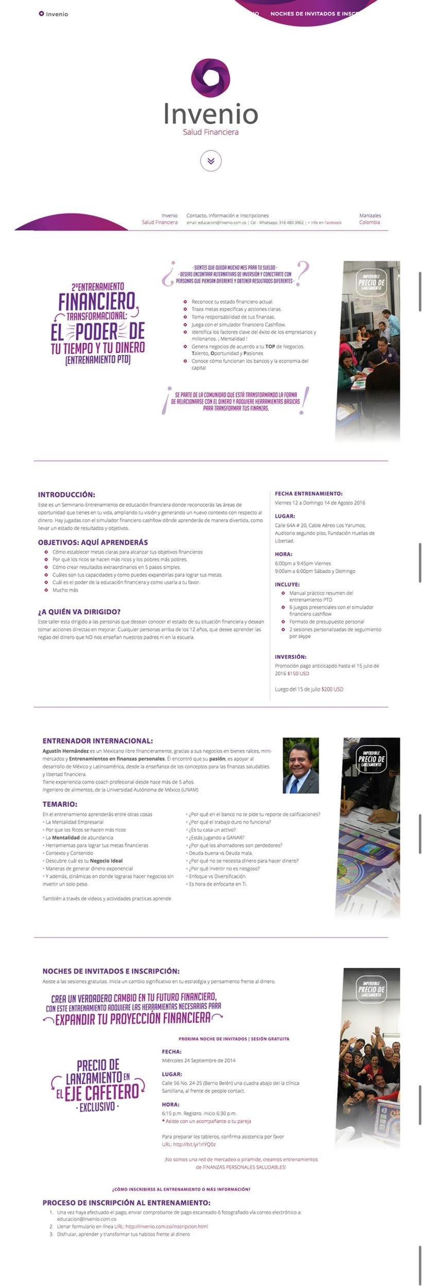 Salud Financiera | Website (Colombia) | HTML -1