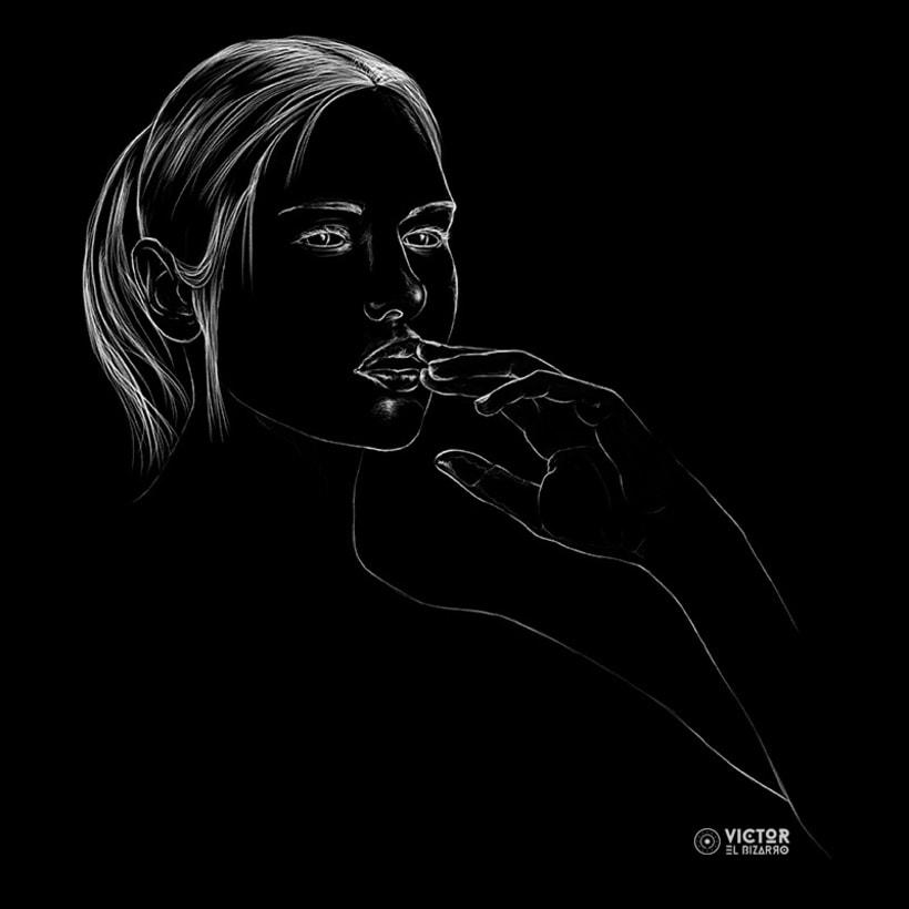 Blanco sobre negro 2