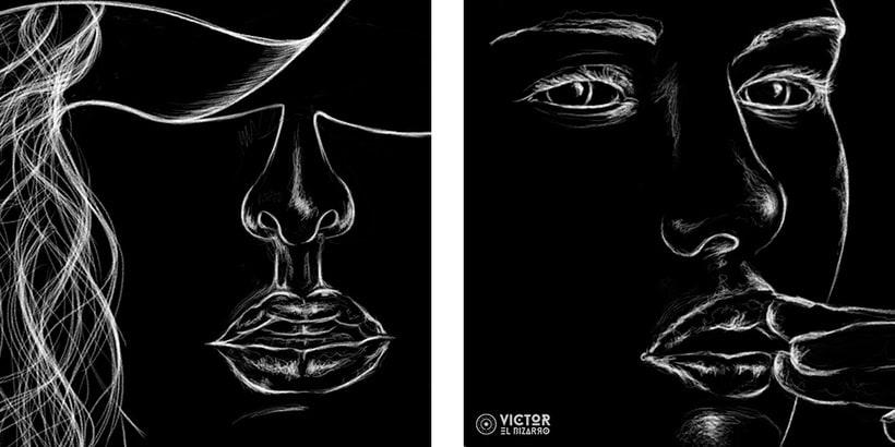 Blanco sobre negro 4