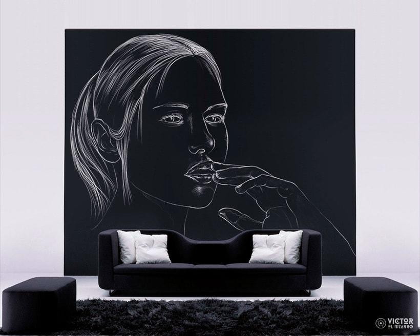 Blanco sobre negro 9