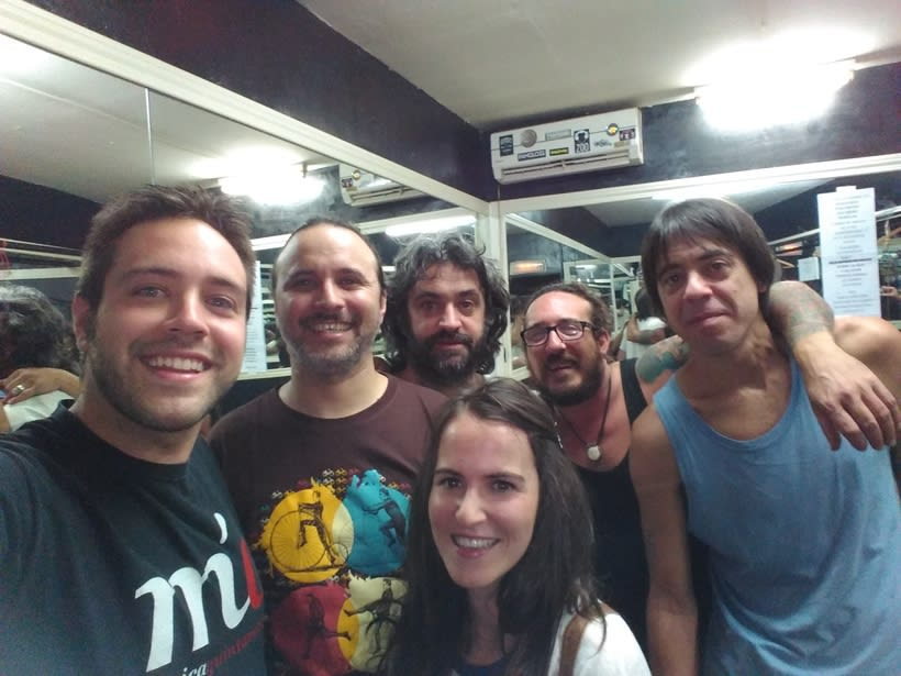 MQ- Entrevista a La Vela Puerca (Uruguay) 0