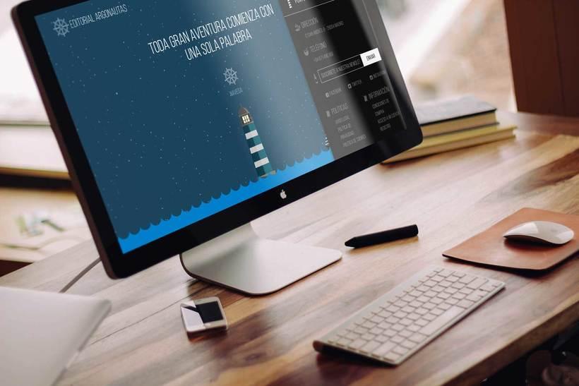 Editorial Argonautas - Diseño tienda online 5