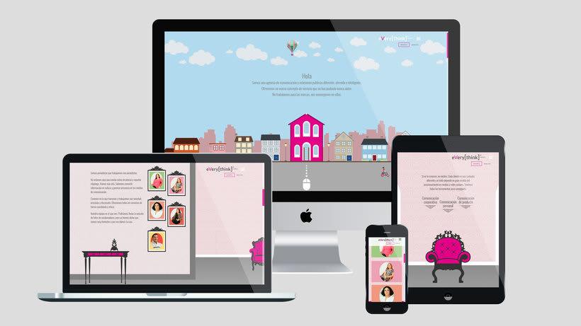 Everythink Pr - Desarrollo Web Corporativa 1