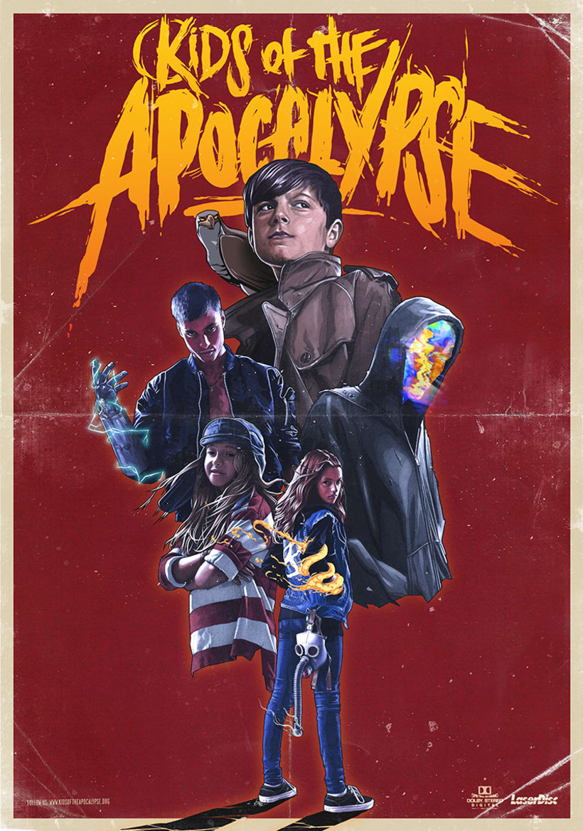 KIDS OF THE APOCALYPSE Poster 0