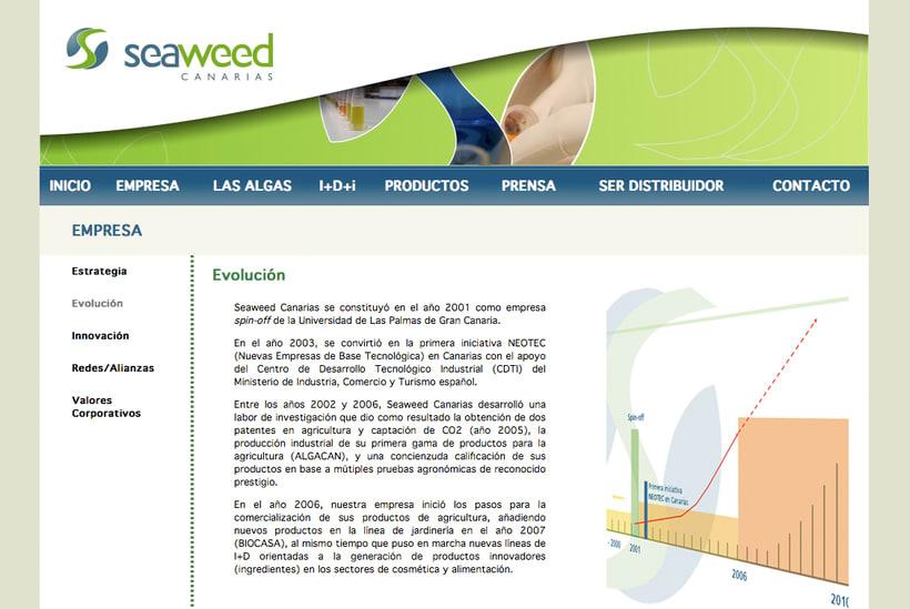 Website Seaweed Canarias 0