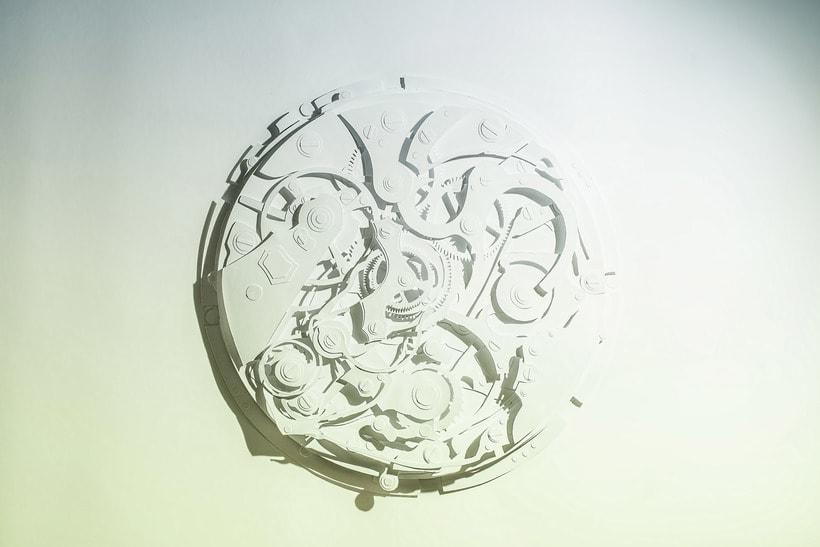 Clock engine / Papercut 0