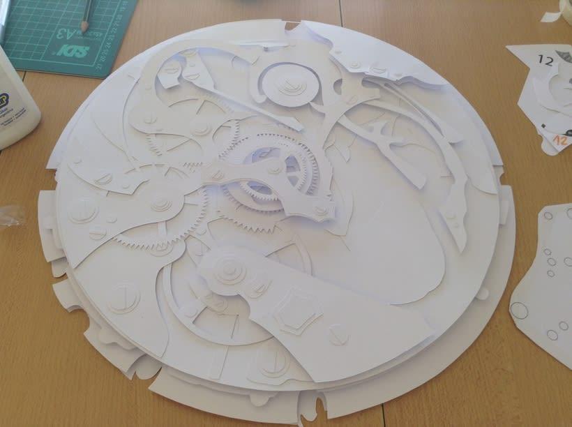 Clock engine / Papercut 5