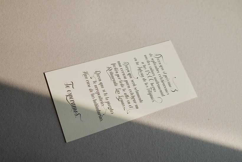 A+N Wedding / Invitation 1