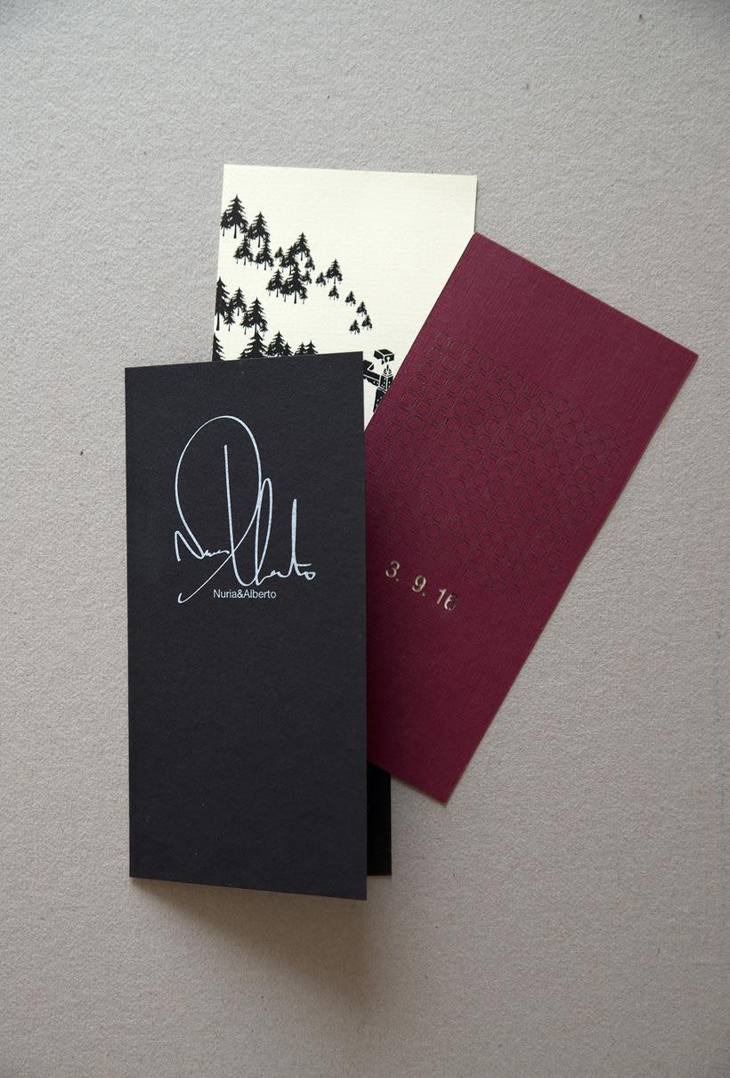 A+N Wedding / Invitation 3