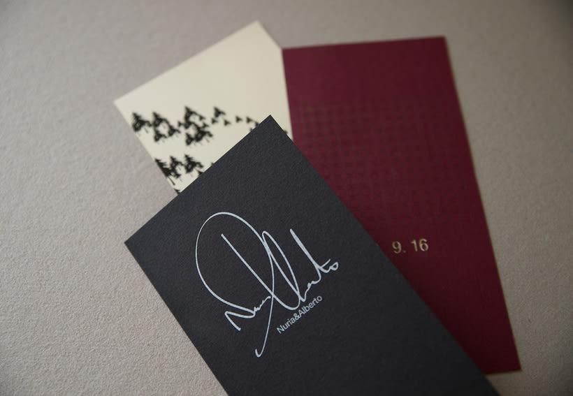 A+N Wedding / Invitation 5