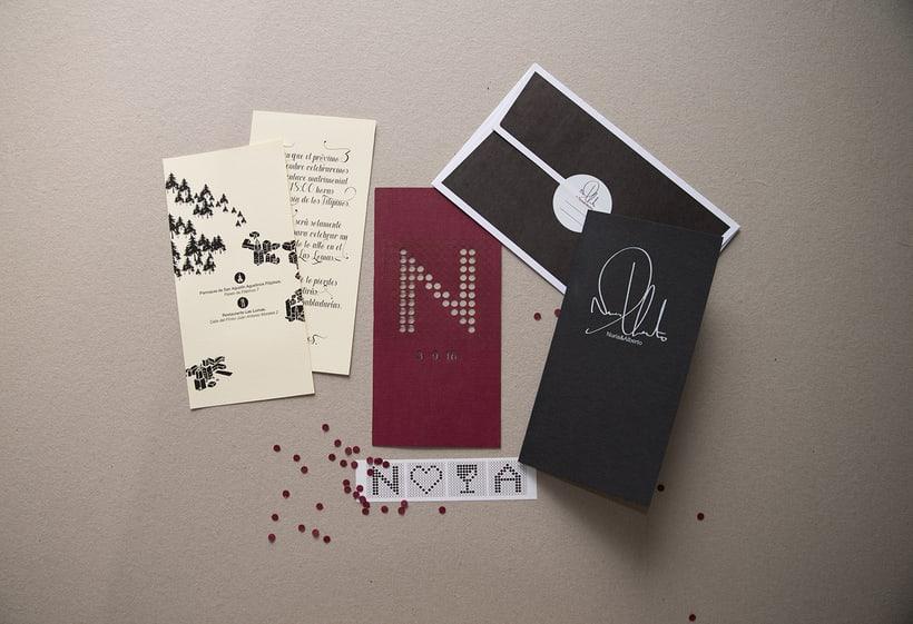 A+N Wedding / Invitation 7