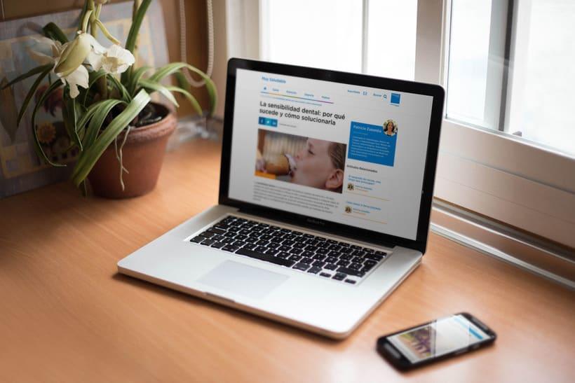Sanitas | Muy Saludable - Desarrollo Web 3