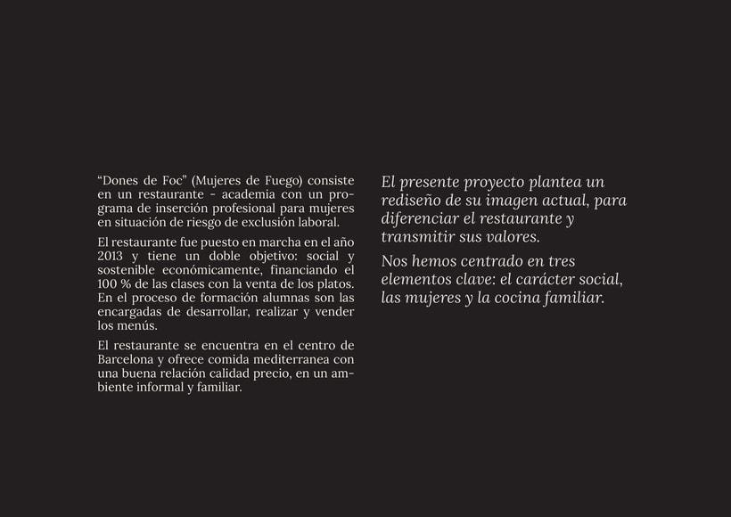 """""""Dones de Foc"""", imagen corporativa  1"""