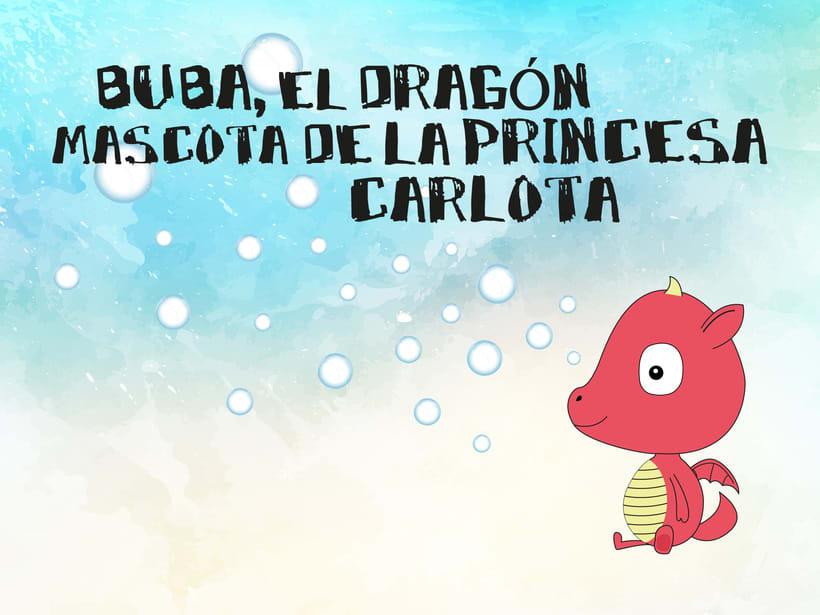 La princesa Carlota y su dragón mascota & Buba, el dragón mascota de la princesa Carlota 7