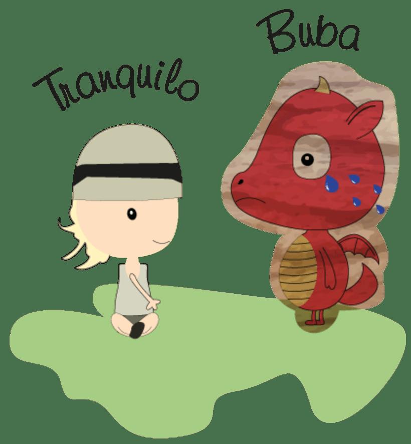 La princesa Carlota y su dragón mascota & Buba, el dragón mascota de la princesa Carlota 10