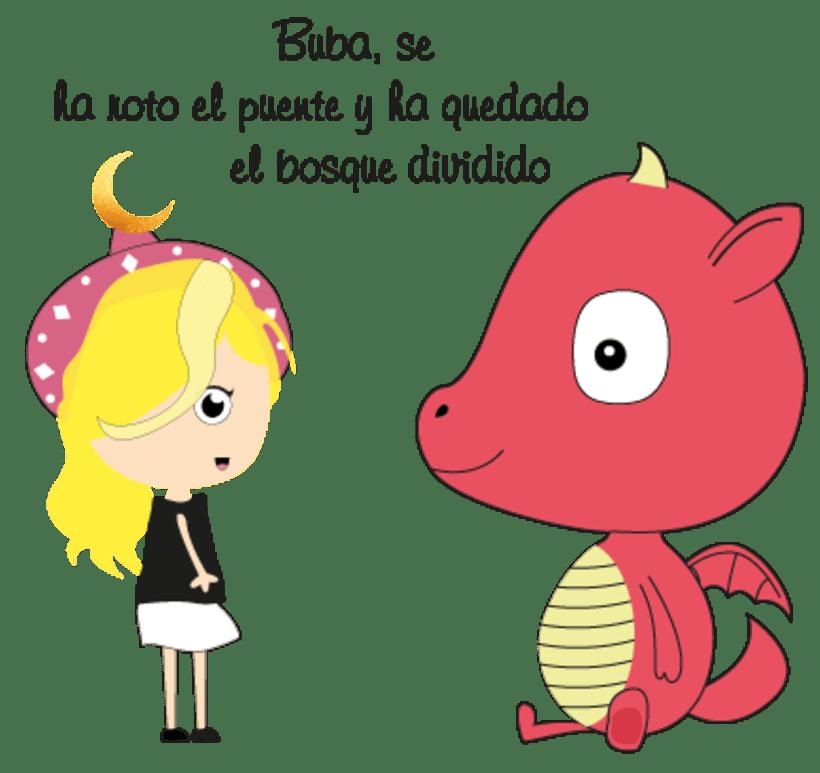 La princesa Carlota y su dragón mascota & Buba, el dragón mascota de la princesa Carlota 13