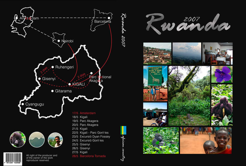 DVD Travel Rwanda 1