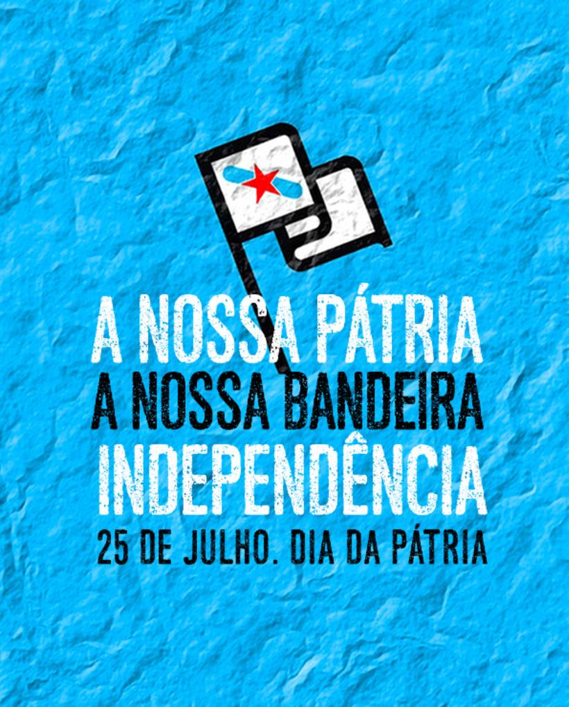 Campanha Dia da Pátria 2016 para Colectivo Independentistas Galegos 9