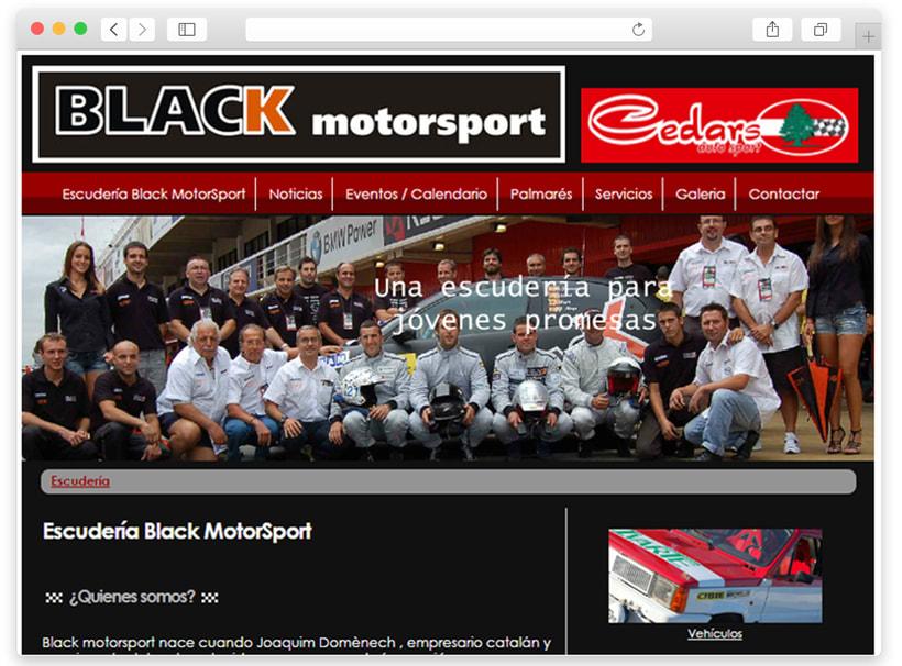 Black motorsport WEB 1