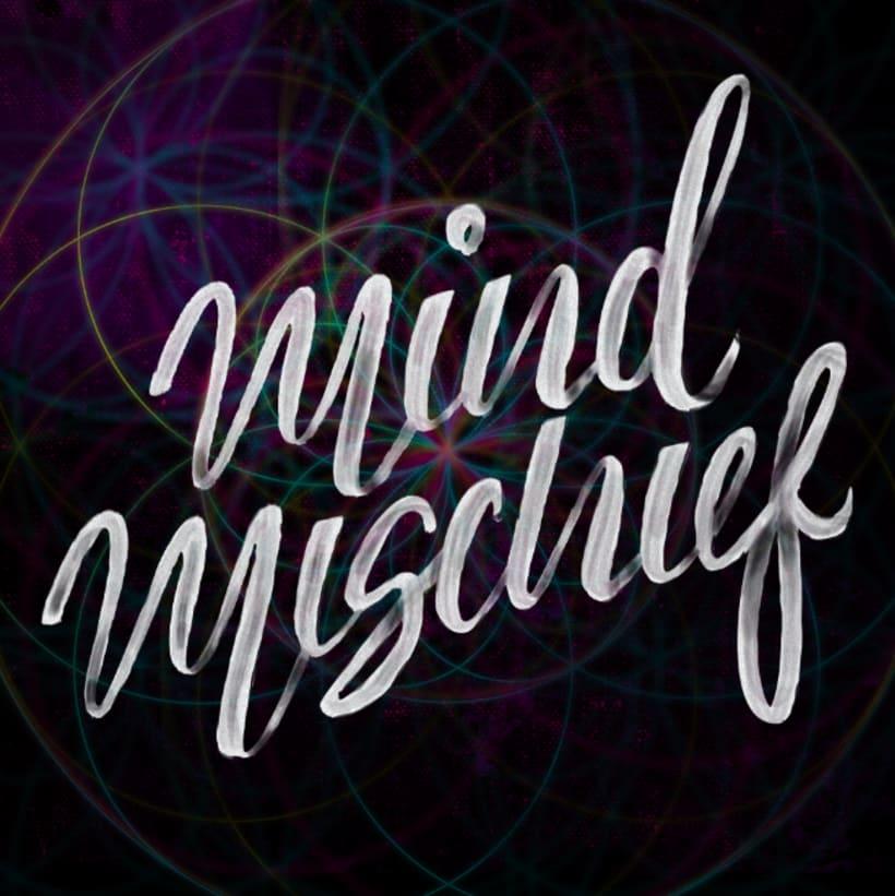 Mi Proyecto del curso: Los secretos dorados del lettering Mind Mischief 3