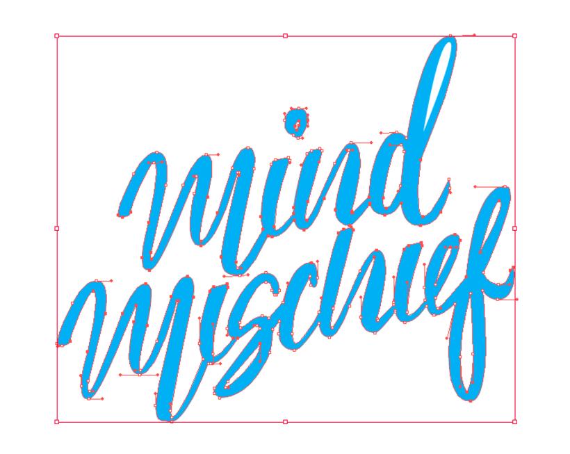 Mi Proyecto del curso: Los secretos dorados del lettering Mind Mischief 2