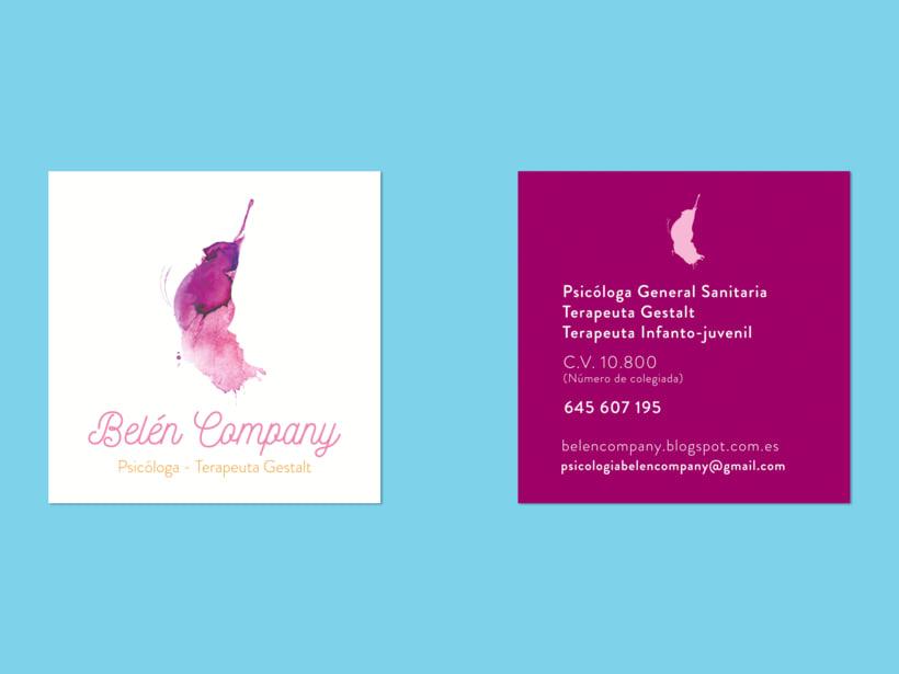 """Branding """"Belen Company"""", psicóloga terapeuta Gestalt 0"""