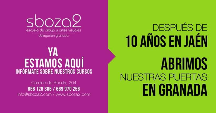 Nueva escuela de Dibujo y Artes Visuales en Granada 1
