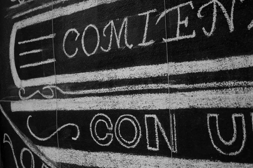 Chalkboard lettering 5