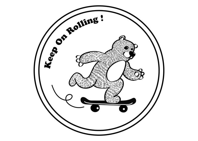 Skater Bear 0