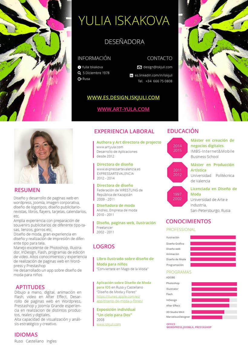 Portfolio completo en mi web http://es.design.iskjuli.com 0