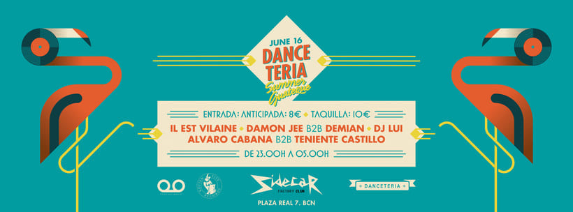 Danceteria - Summer Guateque 1