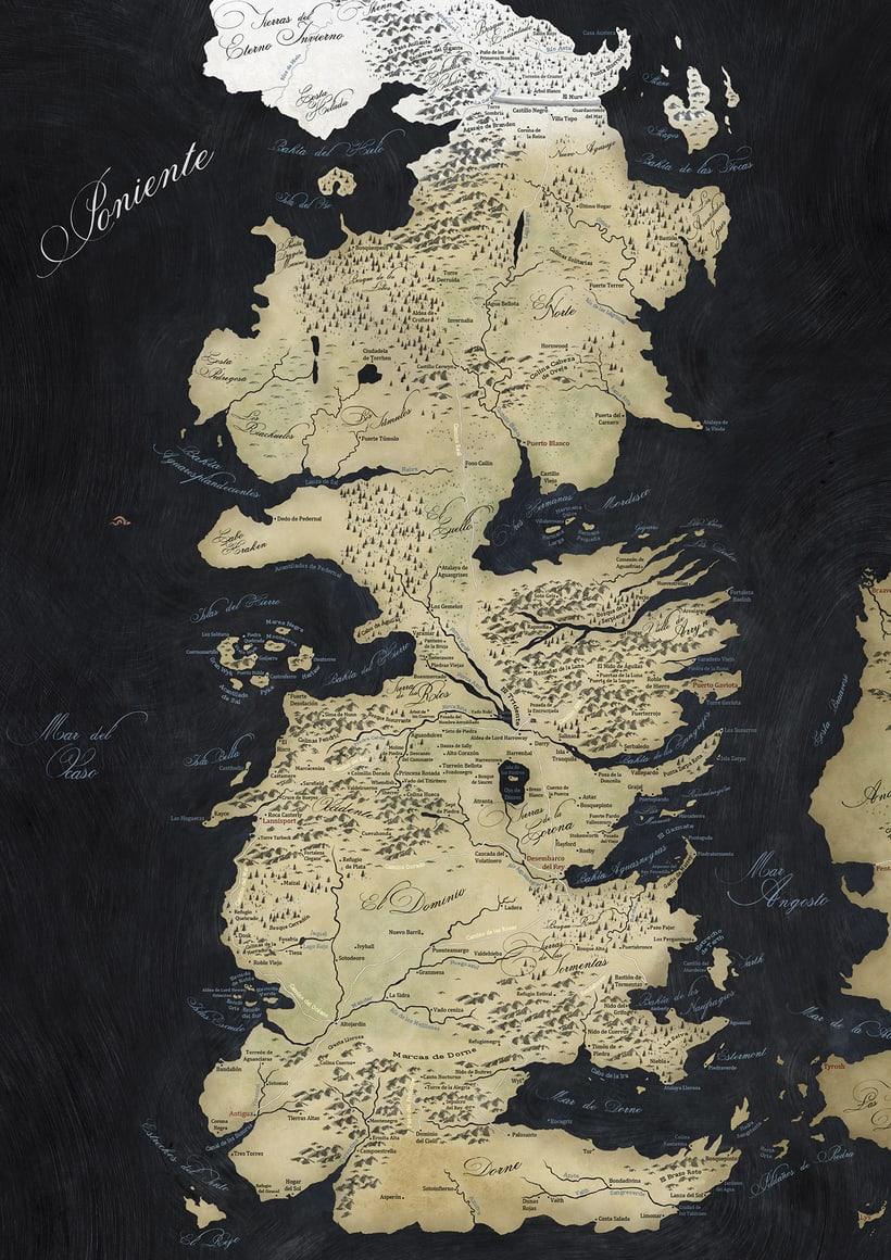 Mapa de Juego de Tronos 3