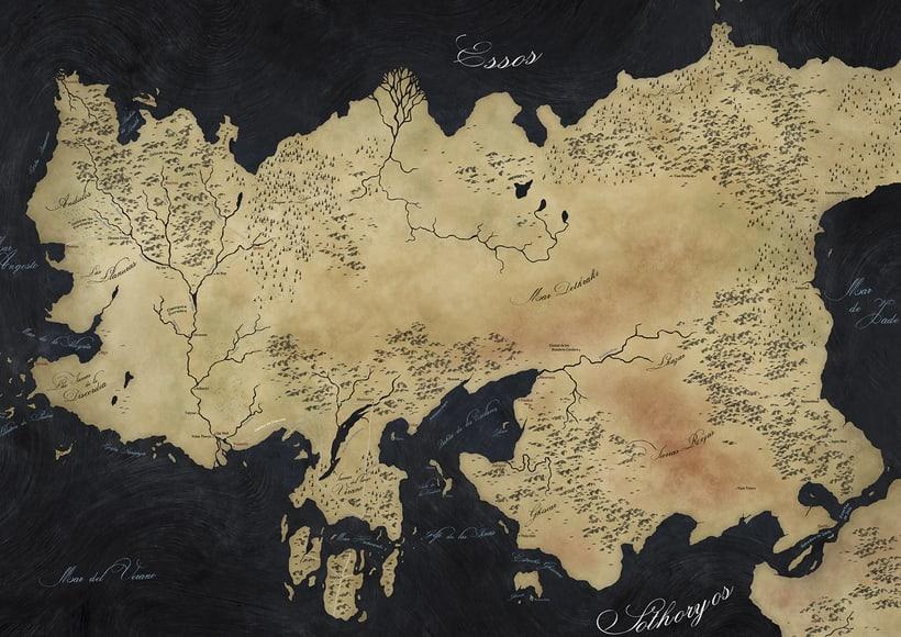 Mapa de Juego de Tronos 4