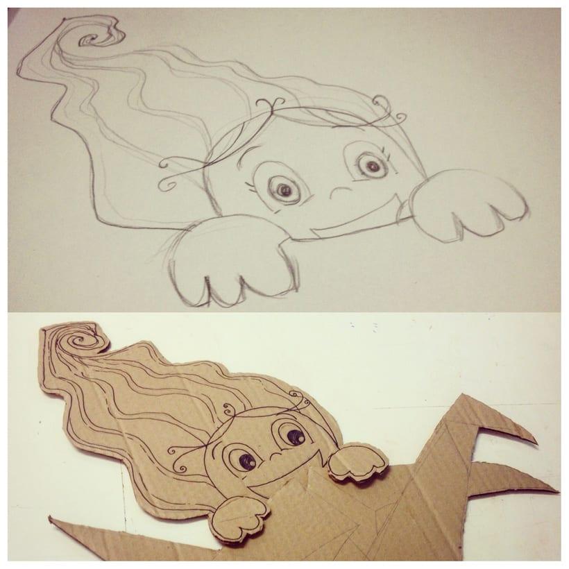 Ilustración para diseño de Vidriera/Escaparate - Alarte Espacio Creativo - 9