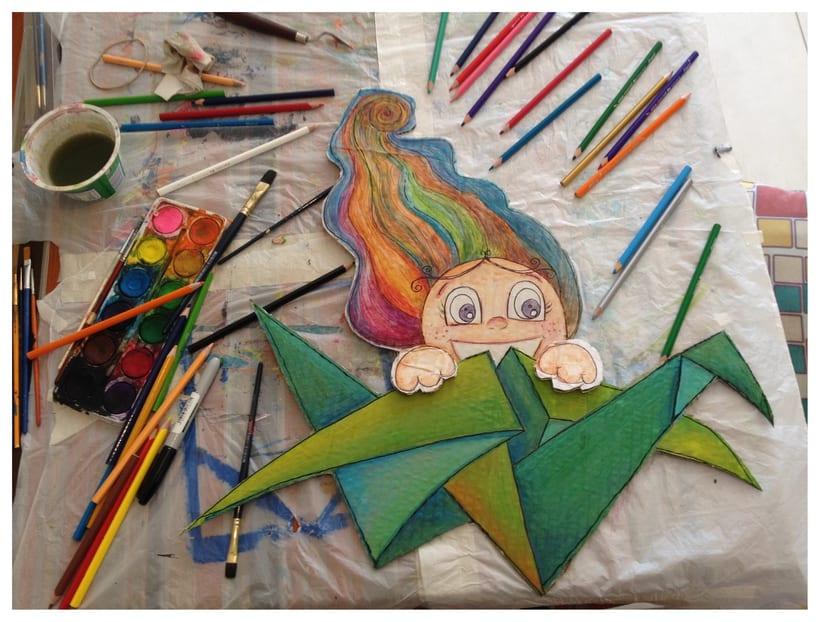 Ilustración para diseño de Vidriera/Escaparate - Alarte Espacio Creativo - 11