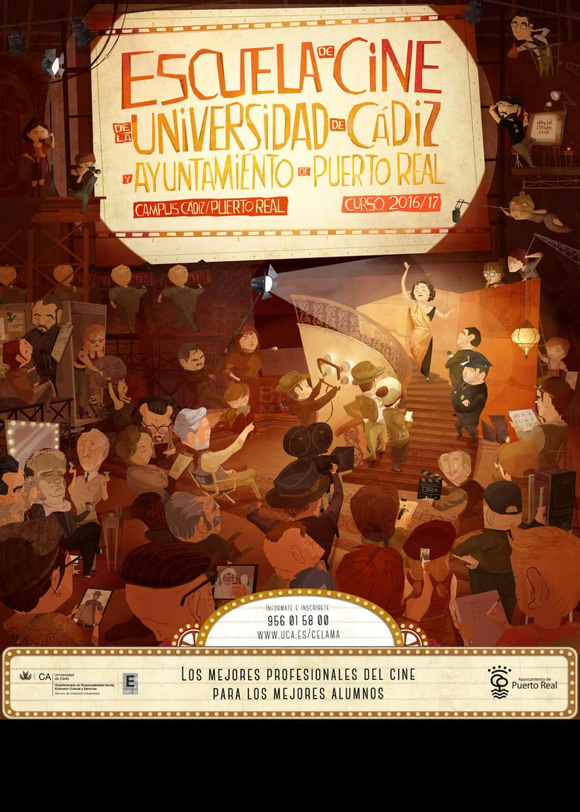 Cartel Escuela de Cine de la UCA -1