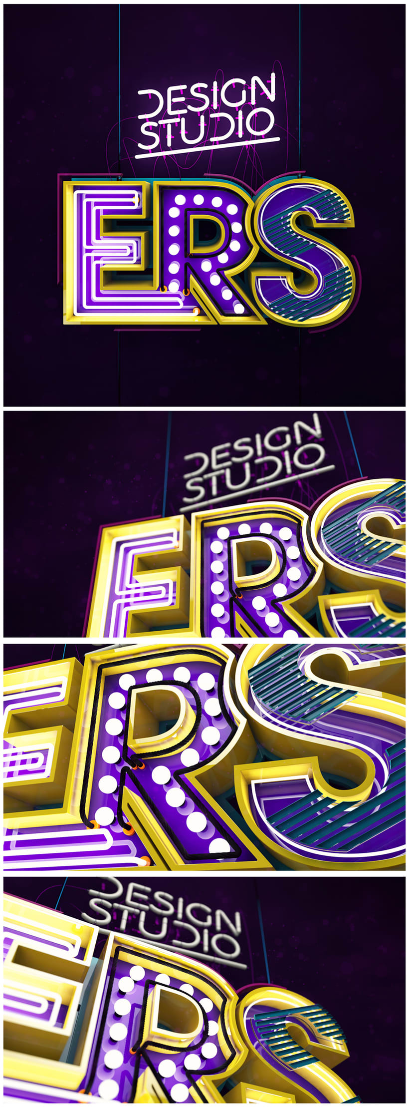 Mi Proyecto del curso Lettering 3D 0