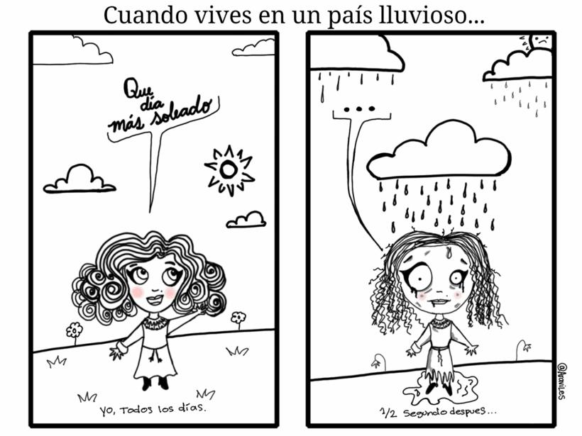 Vivir en un país lluvioso... #araviles -1