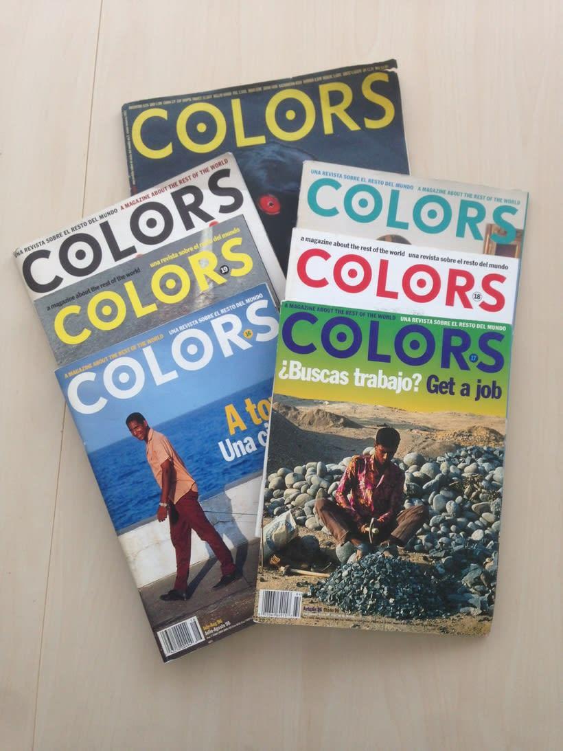 Vendo Revistas 'Colors' de Benetton 1