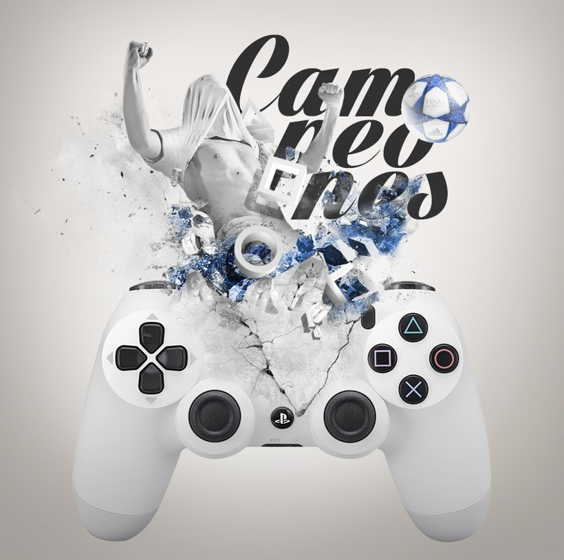 """Play Station """"Campeones"""" -1"""