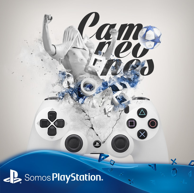 """Play Station """"Campeones"""" 0"""