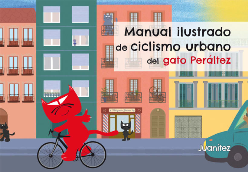 Manual ilustrado de ciclismo urbano del gato Peáltez 1