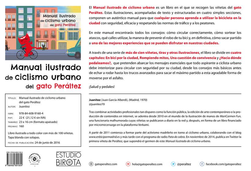 Manual ilustrado de ciclismo urbano del gato Peáltez 2